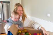 Mijn perfecte week: een druk, vegetarisch gezin wordt creatief met hun wekelijkse maaltijdplan