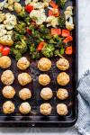 Italiaans Kalkoen Gehaktbalblad Pan Diner
