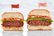 Beyond Beef Onmogelijke hamburgervergelijking