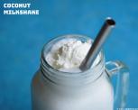 Kokosmilkshake, zachte kokosmilkshake