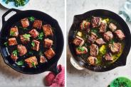 Steak Bite Dinners met 3 ingrediënten |  Kitchn